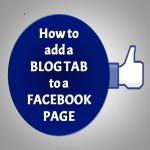 Add your blog updates to your Facebook page